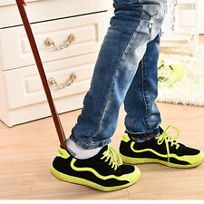 Professional Wooden Long Handle Shoe Horn Lifter Shoehorn High quality 55cm