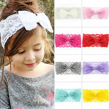 Baby Girls Kid Newborn Soft Elastic Hair Accessories Headdress Hairband Headband