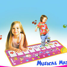 Popular PianoToy For Kids100x36cm big size baby music carpet  baby music mat new