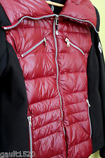 NWT Halifax Traders Women's Red Puff Down Quilted Coat Soft Shell Jacket L $178