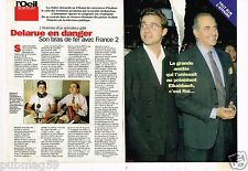 Coupure de presse Clipping 1996 (4 pages) Jean Luc Delarue