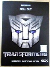 Transformers: Headmasters, Masterforce, Victory + Bonus: 2 Movie ~ 7-DVD SET ~