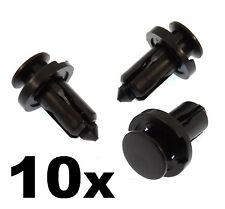 10x SUBARU plastique pare-chocs & bordure clips-rivet clips attaches capot, calandre etc