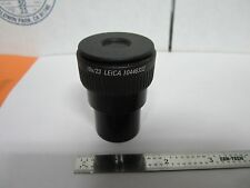 OPTICAL MICROSCOPE POLYVAR REICHERT LEICA EYEPIECE 10X/23 OPTICS BIN#A3-H-3