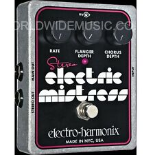 EHX Electro Harmonix Stereo Electric Mistress Analog Flanger Guitar FX Pedal