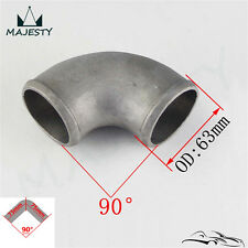 """Pipe Joiner 63mm 2.5"""" Cast Aluminum 90 Degree Elbow Pipe Turbo Intercooler pipe"""