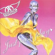 AEROSMITH  JUST  PUSH  PLAY    CD  IN  MINT  CONDITION