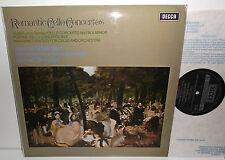 SXL 6547 Auber Popper Cello Concertos Massenet Fantasy Silberstein L'OSR Bonynge