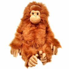 Large 85cm Orangutan Soft Toy - Stuffed Animal Monkey Cuddly Toy - For All Ages