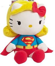 Hello Kitty Dc Comics superwoman/superman felpa muñeca juguete suave 27cm