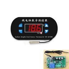 Digital LED Heat Cool Thermostat Temperature Controller Sensor Hottest DC 12V K9