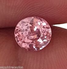 1.61ct Certified natural Padparadscha Sapphire Gemstone CVS