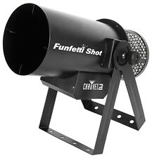Chauvet Funfetti Shot Confetti Cannon DMX inc Wireless Remote