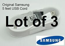 NEW 3 Original OEM 5 feet Samsung Galaxy S3 S4 S6 S7 Edge Note 4 USB CABLE