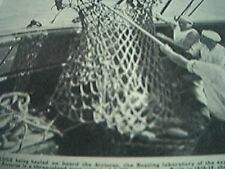 ships 1937 picture rope scallop dredge arcturus new york zoological society