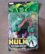 The Incredible Hulk Super Poseable Savage Hulk Bendable Steel Girder Figure