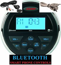 JENSEN MS3ARTL MS3A Bluetooth MP3 Marine Waterproof Boat Stereo JENAUX+ANTENNA