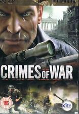 Crimes of War PC Game New Sealed @