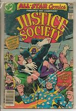 DC Comics All Star Comics #71 April 1978 G