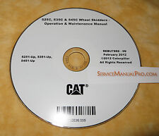 SEBU7892 CAT Caterpillar 525C 535C 545C Skidder Operation Maintenance Manual CD