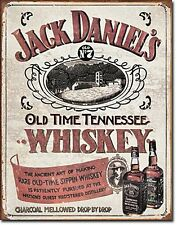 Jack Daniels Tennessee Whiskey metal sign    (de pt)
