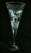 Waterford Crystal Millenium PEACE Champagne Flute Cruise Line Marked 9-1/4""