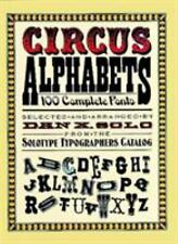 Circus Alphabets (Lettering, Calligraphy, Typography), Dan X. Solo, Acceptable B