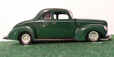 MotorMax 1939 Chevy Coupe Green 1:24 Scale Diecast Metal Model Classic Car