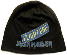 "IRON MAIDEN JERSEY BEANIE # 5 / MÜTZE / CAP ""FLIGHT 666"""