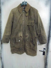 SHABBY CHIC BARBOUR SOLWAY ZIPPER WAXED JACKET SIZE L