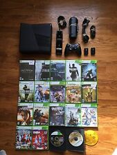Microsoft Xbox 360 Slim 250gb Console + 20 Games huge bundle lot system