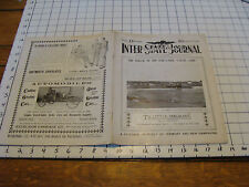 vintage paper: INTER-STATE Illustrated JOURNAL New Hampshire & Vermont 1905