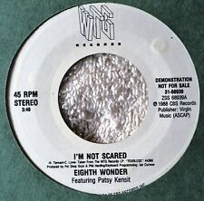 Eighth Wonder Patsy Kensit I'm Not Scared Rare US Issue DJ Dance Thump Pop