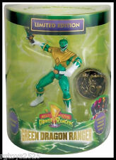 SDCC 2013 BANDAI EXCLUSIVE POWER RANGERS GREEN DRAGON RANGER & COIN 4""