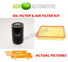 PETROL SERVICE KIT OIL AIR FILTER FOR LAND ROVER DISCOVERY 4.0 182 BHP 1993-98