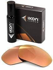 Polarized IKON Replacement Lenses For Oakley X-Metal Juliet Rose Gold Mirror