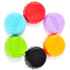 6 PCS Silicone Hold Bear Sweet Wine Stopper Wine Bottle Cover Lid Beer Saver