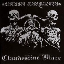 SATANIC WARMASTER/CLANDESTINE BLAZE - split - CD 2011 - (Northern Heritage)