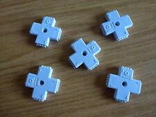 5 X 10 Mm Hembra 4 Pin En Forma De X Conector Para Tira De Luz led RGB5050 3528