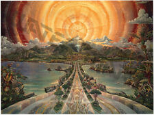 """Visionary Art """"The Path"""" Vintage 1975 Poster by Joseph Parker"""