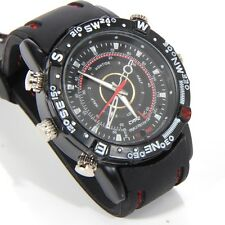 8GB Spy Wrist Watch Video Recorder Hidden Cam Camera DV DVR Waterproof Camcorder