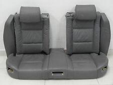 Original bmw e38 7er 750il individual rücksitzbank cuero eléctricamente calefacción gris