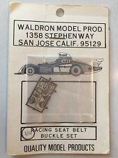 Waldron Model 1/20 Scale Racing Seat Belt Buckle Set Metal Photo Etched Details