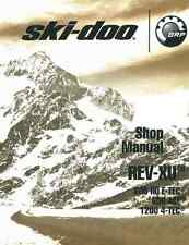 2011-2012 Ski-Doo REV-XU series 600 HO 600 ACE 1200 4-TEC snowmobile srvc manual