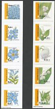 Finland 2002 MNH Flowers - Water Forget-Me-Not - Lily of the Valley - Flower set
