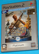 Medal of Honor - Rising Sun - Sony Playstation 2 PS2 - PAL