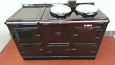 Aga Cooker - Fully Refurbished Four Oven 13 amp Aga in Pewter Grey, Chrome Lids