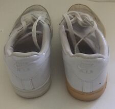Nike Air Force 1 White Transparent Clear See Thru Invisible Sneakers Size 12