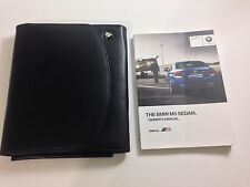 2012 BMW M5 Owner's Manual Owner Book & Leather Case