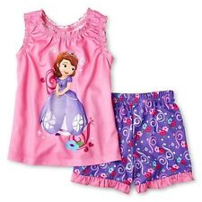 Disney Princess Sofia the First 2 pc. short pajamas -  Size 4 NWT Girls
